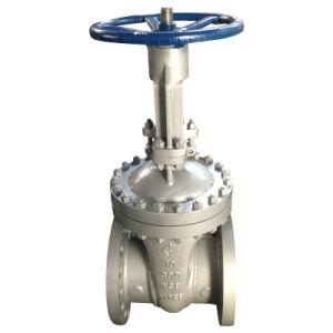 Válvula de compuerta con bridas RF API 300lb de acero forjado A105