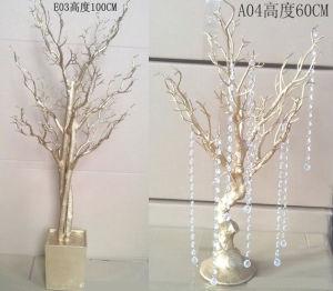 Filiali di albero asciutte bianche artificiali decorative dell'interno