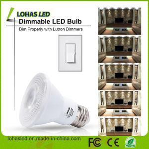 Indicatore luminoso freddo di PARITÀ di bianco LED di grado E27 PAR20 9W di Dimmable 40 della lampadina del LED