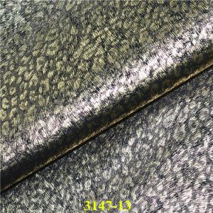Bonne solidité des couleurs synthétiques matériau PU Chaussure en cuir supérieur