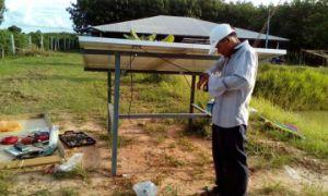 24 Volt Solar Powered dc la pompe à eau submersibles (NS242T-20)