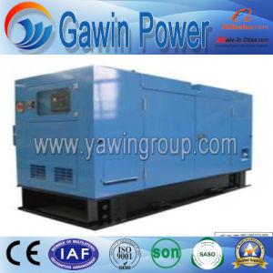 30kw Quanchai série eléctrica resfriado a água com proteção acústica gerador diesel