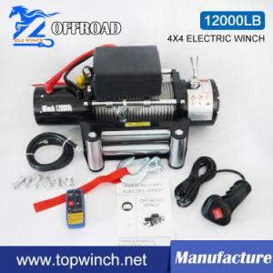 SUV 4X4 12V DC Malacate eléctrico con la certificación CE (12000lb-1)