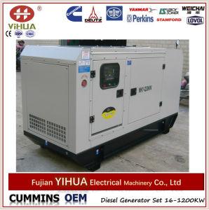 Nuevos conjuntos de generador diesel diseñados de Foton Isuzu con el tipo del pabellón