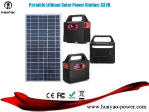 150Wh 100W Alimentation Batterie rechargeable portable générateur d'énergie solaire