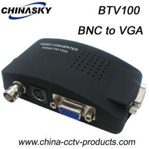 セリウムの承認(BTV100)のVGAのビデオコンバーターへのCCTV BNC
