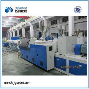 Alta capacidad de 20-63mm la máquina de extrusión de tubo de PVC doble
