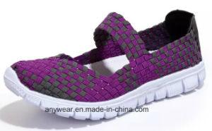 Le tricot Chaussures Femmes chaussures de patinage occasionnels sur tissé (480)