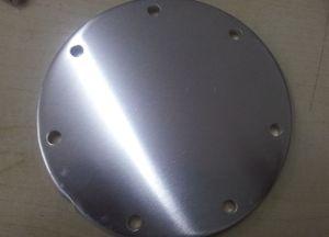 Personalizado de la producción masiva de discos de aluminio moldeado a presión con estampación