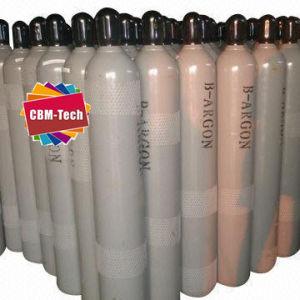 Os cilindros de corte e solda para o armazenamento de gás argônio 99,999%