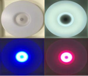 Controllo chiaro astuto di APP dell'altoparlante di Bluetooth dell'indicatore luminoso di soffitto del LED Bluetooth