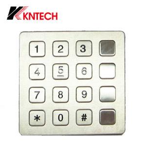 Con el nuevo Watproof IP66 (KP7) Kntech Teclado Industrial