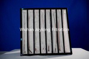 Primary&Médio múltiplos de eficiência do filtro de bolso com moldura em alumínio