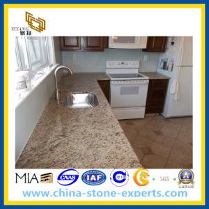 Countertop van de Keuken van het Graniet van Giallo Sier voor Badkamers