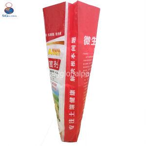 Impressão atraente Moistureproof personalizado Embalagem de plástico Sacos de 50 kg de arroz