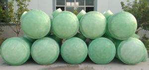High-Strength, Corrosion-Resistant, Tanque de PRFV séptica de Longa Duração