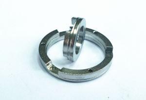 Fermi d'ottone lavoranti di giro, guarnizioni d'ottone, anello dell'acciaio inossidabile