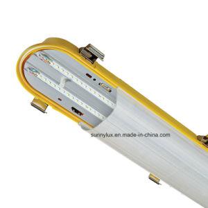 No corrosivo Triproof IP65 Resistente al agua LED de luz de listones con Ce AEA UL