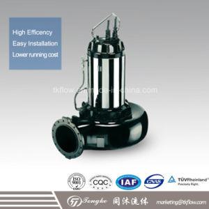 Non-Blocking / No obstruir la bomba de agua sumergible de aguas residuales