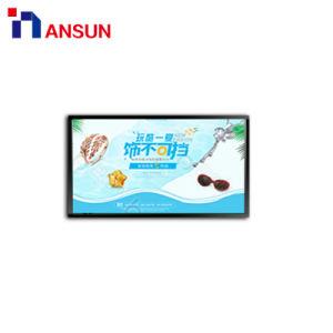 광고를 위한 최고 호리호리한 WiFi 벽 마운트 디지털 메뉴 전시 LCD 스크린