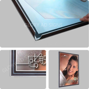 표시 광고를 위한 황급한 프레임 LED 알루미늄 가벼운 상자