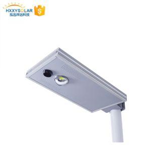 高い内腔防水屋外LEDの太陽街灯10W