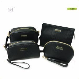 Fournisseur de Guangzhou PVC Housse en cuir sac beauté composent ensemble