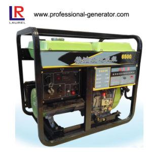 La alta calidad 5kVA refrigerados por aire Generador Diesel