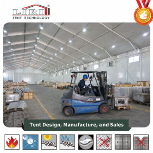 20x50m l'utilisation industrielle tente avec cadre en aluminium pour le stockage Temperory