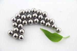 sfera per cuscinetti dell'acciaio inossidabile di 1mm 2.5mm 3.3mm 4.25mm 5.56mm 6.4mm 7mm che sopporta il cuscinetto a sfere angolare del contatto