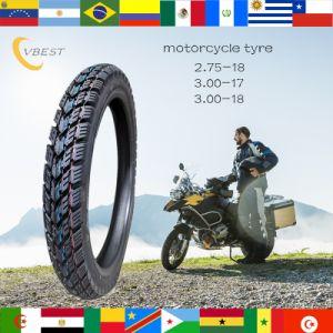 Best Selling de Super Garantia de Qualidade dos Pneus de motocicleta (3.00-18, 2.75-18, 3.50-18)