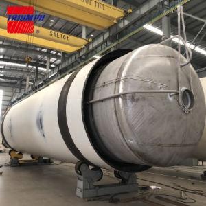 100m3 Réservoir de stockage cryogénique pour le GNL/LOX/Lin/lar avec ASME/Go en standard