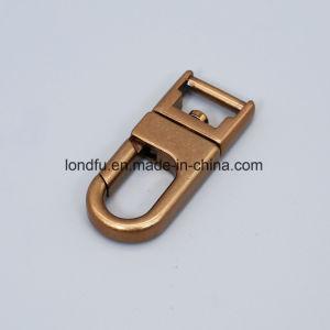 Liga de zinco personalizado Mosquetão gatilho para o saco ou PET