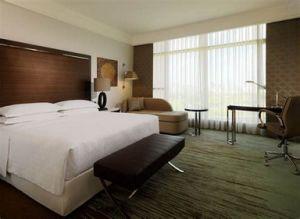 Hotel de luxo com mobiliário de estilo italiano atacado Quarto Contrato de mogno escura