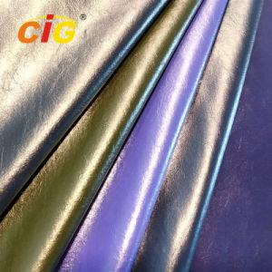 Largura cores 150cm PU sintético de vestuário de couro couro
