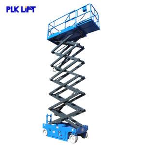 6m 10m 14m Antena eléctrica hidráulica de elevación de la Plataforma de tijera de hombre