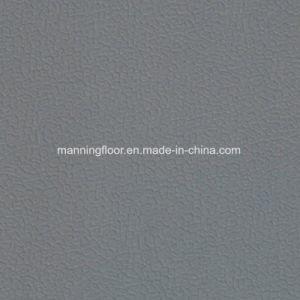 Zachte Binnen Donkere Grijze Multifunctionele VinylVloer van uitstekende kwaliteit 6.5mm van Sporten