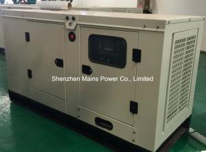 30kVA 24Kw de puissance continue d'origine générateur Perkin générateur diesel insonorisé