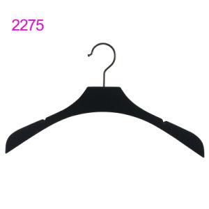 Vêtements femmes extensible en plastique en vrac Haut Vêtements Hanger avec logo