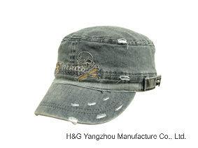 スポーツの帽子の急な回復の帽子の綿の帽子の野球帽の軍隊はキャップする