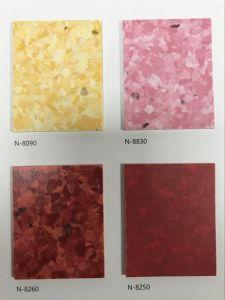 Antibactérien antistatique en vinyle PVC Revêtements de sol homogène pour l'hôpital