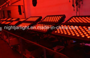 LED都市カラー壁の洗浄ライト