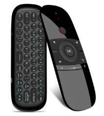 Wechip Original Novo W1 Teclado Mouse Wireless W12.4G voar Air Mouse exigível Mini Controle Remoto para TV Android Box/mini-PC