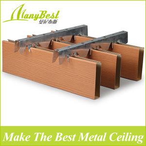 Plafond de finition en aluminium de matériaux de construction incombustible