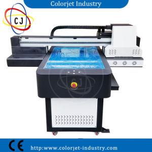 Cj-R6090UV A1+ Pluma efecto 3D, teléfono, caja de vidrio, cerámica, metal y plástico plano de la impresora UV