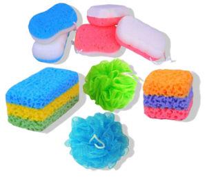 Baño de esponja exfoliante