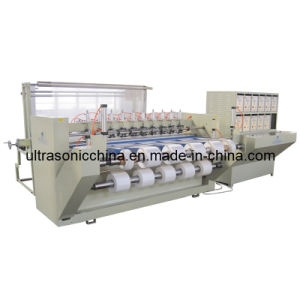 Cutting ultrasonique Machine pour Polyester Fabric