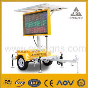 Il messaggio variabile alimentato solare redditizio 2 firma il rimorchio delle VM