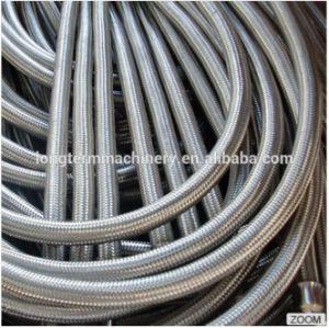 Flexibel Roestvrij staal 304 de GolfPijp van de Vlecht van het Metaal Slang