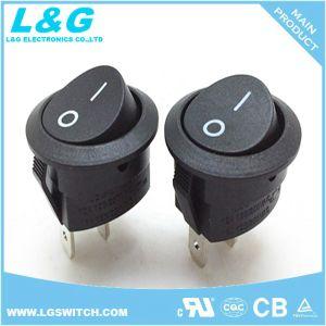 Interruttori di attuatore rotondi on-off del crogiolo di pulsante di posizione di potere 2 micro